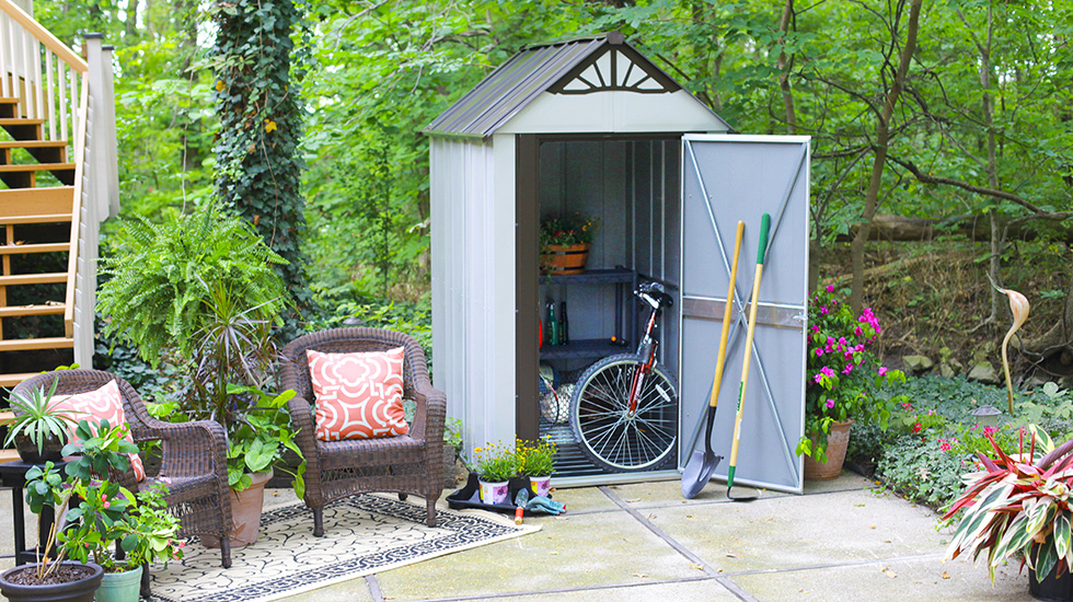 choosing your storage shed location