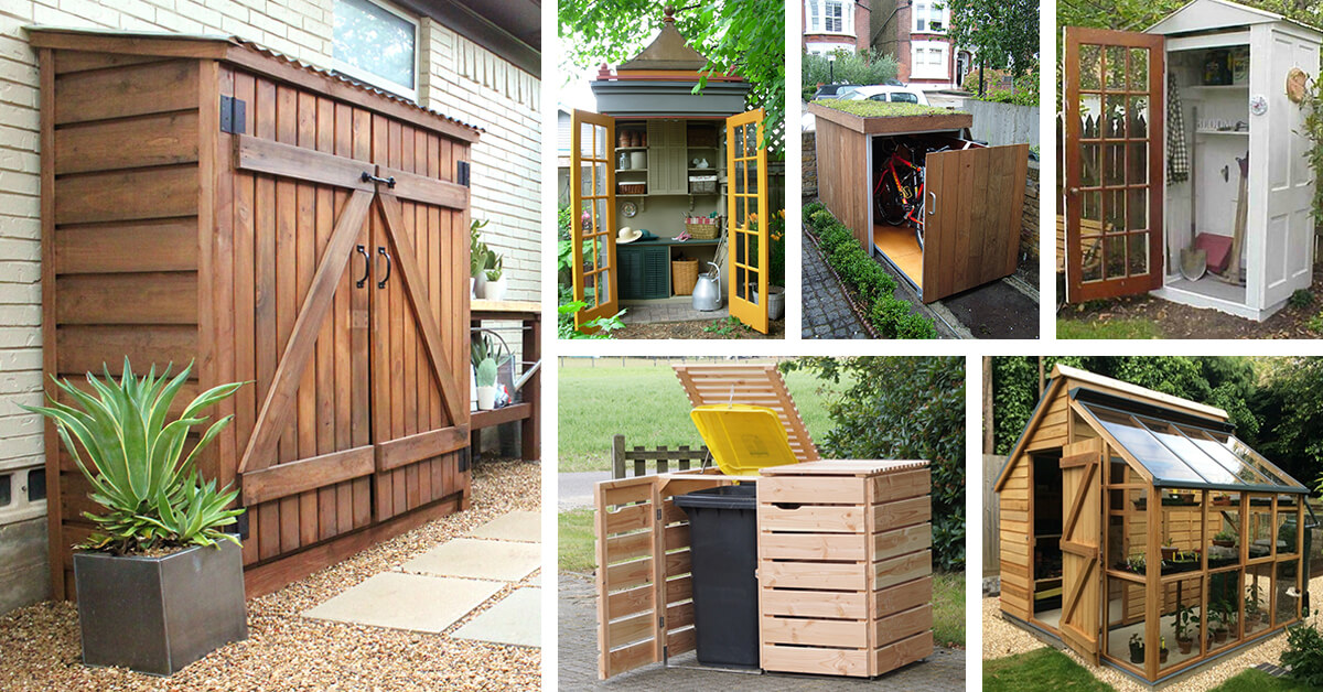 storage shed ideas and plans