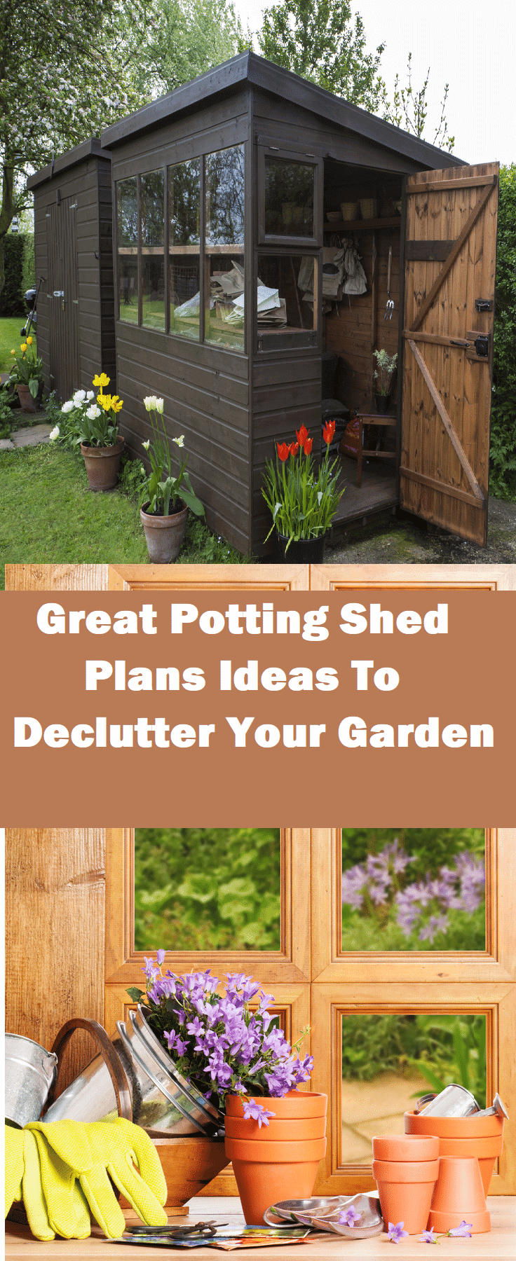 Great Potting Shed Plans Ideas To Declutter Your Garden Download