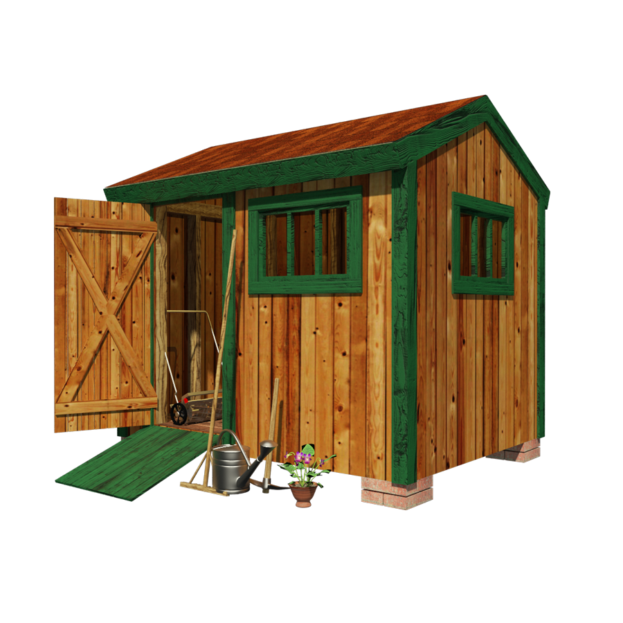 tool shed plans