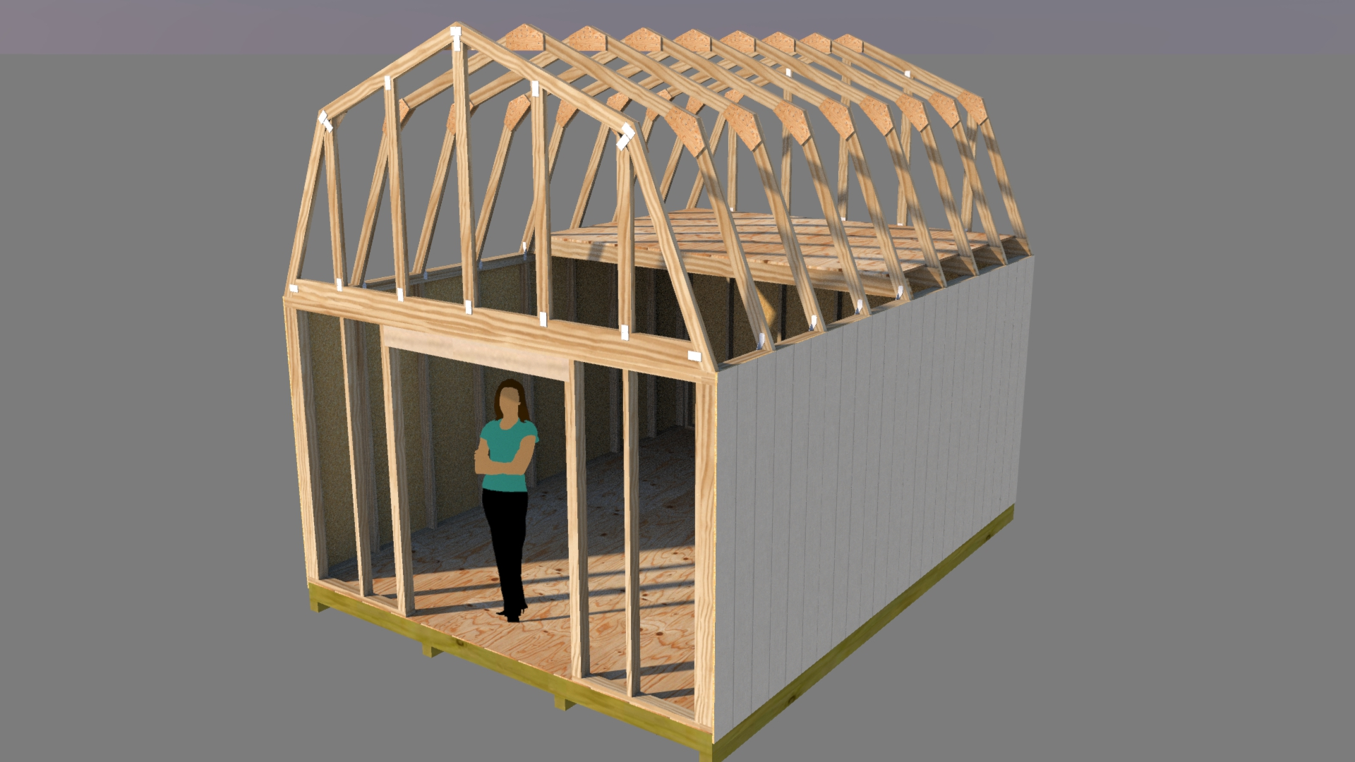12x16 barn shed plans