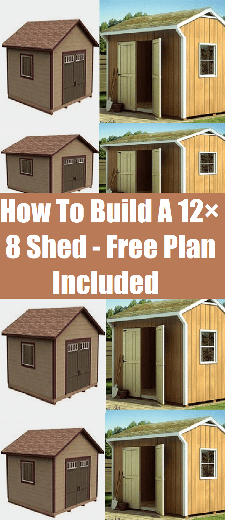 How To Build A 12×8 Shed