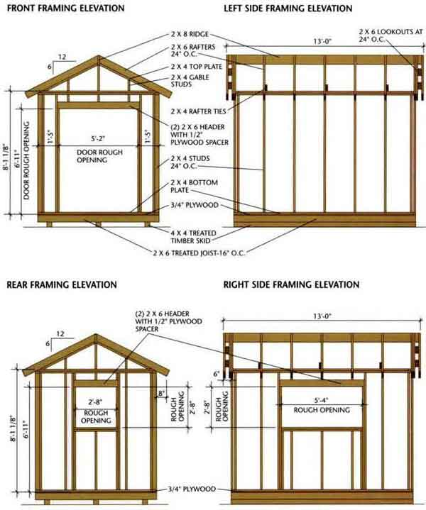 free-wood-shed-plans