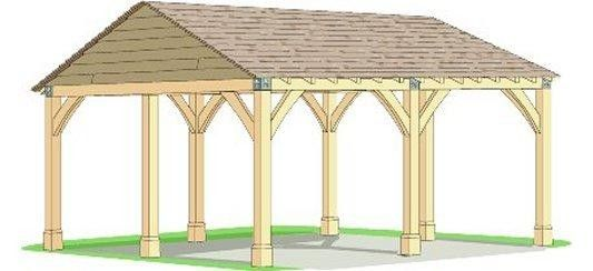 how to build a carport from wood