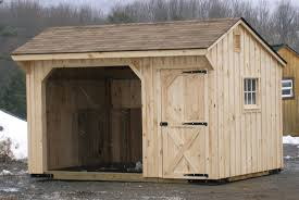 loafing shed plans