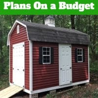 How to Build 10x16 Gambrel Shed Plans On a Budget