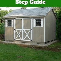 How to Build 8×12 Shed Plans Step By Step Guide