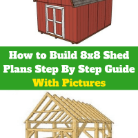 How to Build 8x8 Shed Plans Step By Step Guide With Pictures