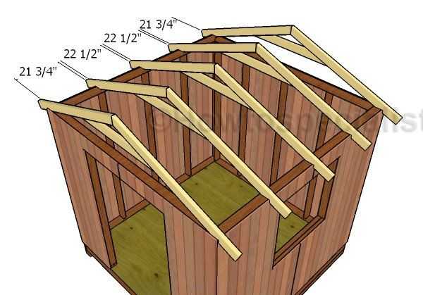 how to build 8x8 shed plans
