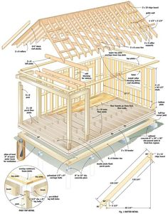 shed designs building plans ideas