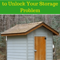 Small Shed Plans Ideas to Unlock Your Storage Problem