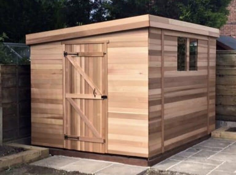 how long will a cedar shed last