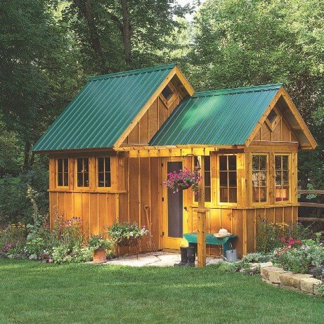 5 Types of Log Cabin Ideas You Can Build In Your Backyards Garden